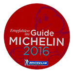 Scans original Guide Michelin 2015 Sticker